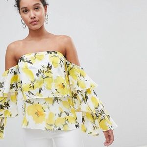 PrettyLittleThing exclusive top on Asos